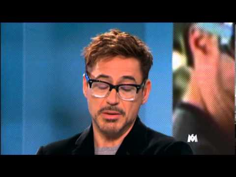 Robert Downey Jr. & Gwyneth Paltrow talk about