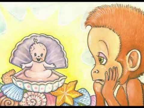 A conchinha falante  - conto espírita infantil