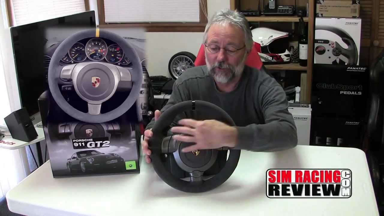 sim racing review fanatec porsche 911 gt2 wheel product. Black Bedroom Furniture Sets. Home Design Ideas