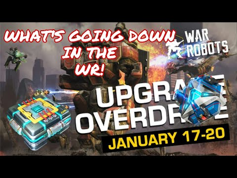 War Robots - What's Going Down In The WR!