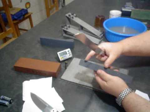 06 Como afiar sua faca ou canivete com a melhor técnica de afiação vídeo 6 de 7.avi