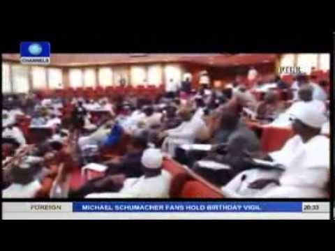 Review Of Nigeria's National Assembly Lawmaking Process In 2013 pt.1
