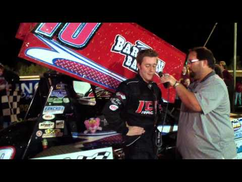 Port Royal Speedway 305 Sprint Car Victory Lane 10-12-13