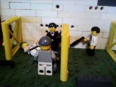 goldenlego johnny thunder y james bond VS Jaws