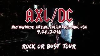AC??DC with Axl Rose Live in Columbus, Ohio [2016] FULL CONCERT