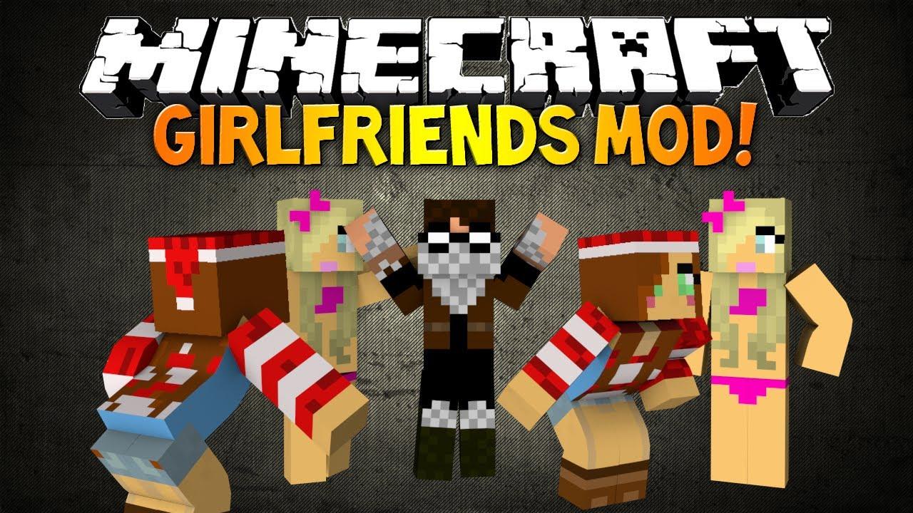 Minecraft: THE NEW GIRLFRIENDS MOD! - Girlfriend Minions