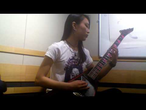 Children Of Bodom Bodom Beach Terror solo cover by Saaya