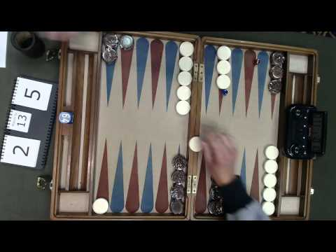 Carolina Backgammon FM Q2 Rod Covlin v David Todd