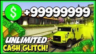 "GTA 5 Glitches: ""UNLIMITED MONEY GLITCH 1.17"" GTA 5 Online"