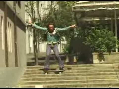 Stand Up Slide Down Stairs! (LONGBOARD)