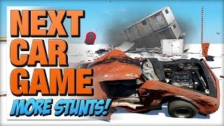 Game | Next Car Game Trying More Tech Demo Stunts! | Next Car Game Trying More Tech Demo Stunts!