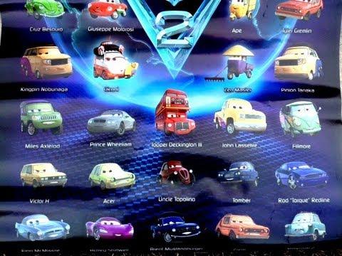 Lightning Mcqueen  Car Names
