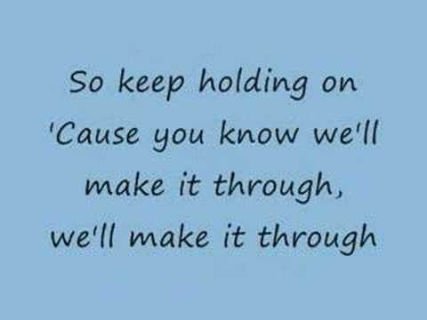 Keep Holding On - Avril Lavigne (lyrics)