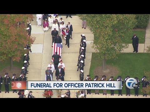 Fallen Detroit officer remembered as 'great role model'