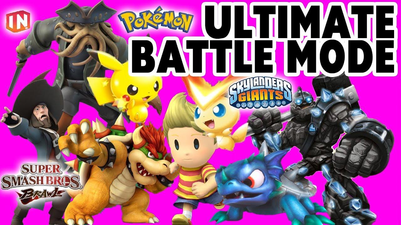 Ultimate Battle Mode Skylanders Pokemon Super Smash