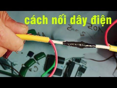 cách đấu nối dây điện,how to connect electrical wires