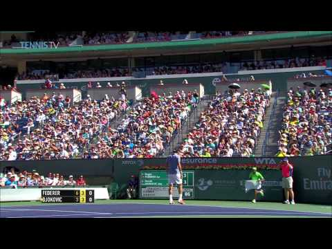 Indian Wells 2014 Final Hot Shot