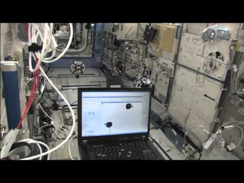 Testing Robotic Floating Satellites Inside the ISS | NASA Space Science HD