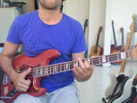 L239 E slap bass w ascending 6ths