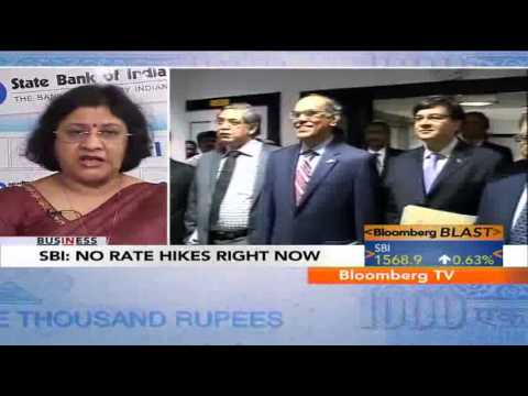 In Business - No Rate Hikes Right Now: SBI
