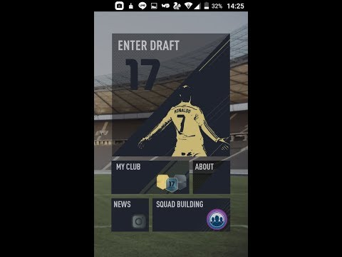 Doing a fifa 17 mobile fut draft and pack openings