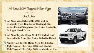 All New 2014 Toyota Hilux Vigo Minor Change New Model 2015