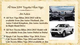All New 2014 Toyota Hilux Vigo Minor Change New Model 2015