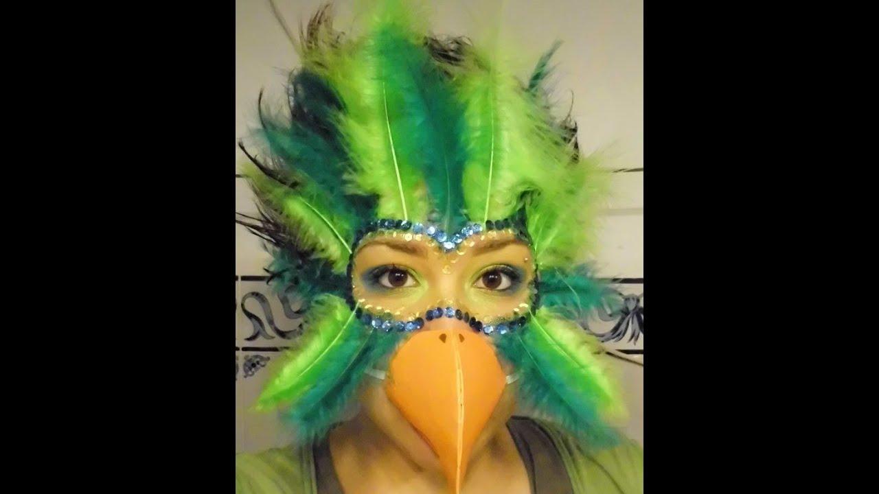 maquillaje disfraces 1 mujer loro astharte estilismo