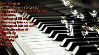 Những bản nhạc trẻ không lời hay (piano cover)