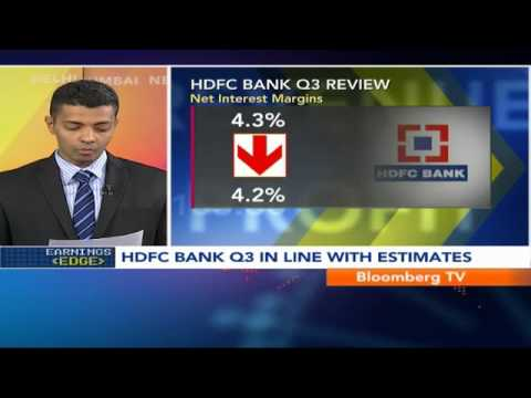 Earnings Edge- HDFC Bank Q3 In Line With Est