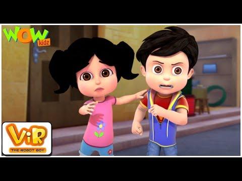 The Lady Jinn Part - 1 | Vir: The Robot Boy | Action cartoon for kids | Wow Kidz