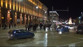 [Protest in Sofia 10.12.2013 in front of Council of Ministers...] Video
