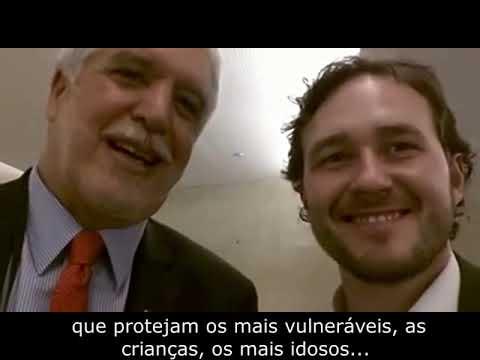 Enrique Peñalosa e Vinicius Ribeiro