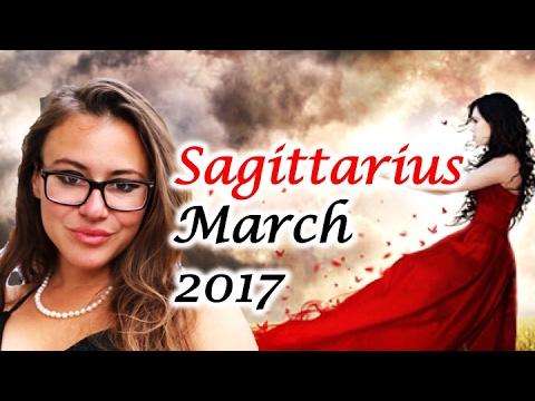 SAGITTARIUS March 2017 Horoscope. VENUS Retrograde Makes you LET GO of PAST LOVES!