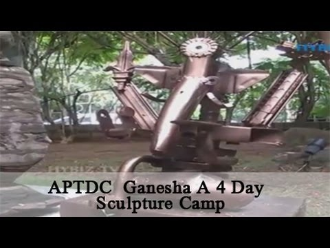 APTDC  Ganesa A 4 Day Sculpture Camp