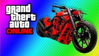 "GTA 5 Secret ""Chopper Bike"" ($999,999,999) Secret"