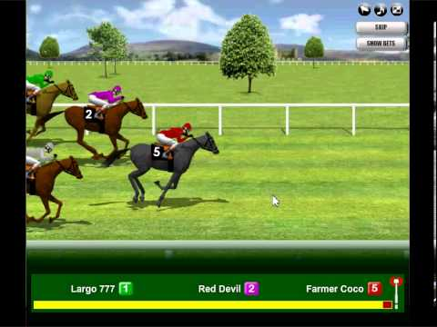 free casino horse racing game