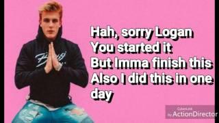 LOGANG SUCKS (LYRICS)-JAKE PAUL