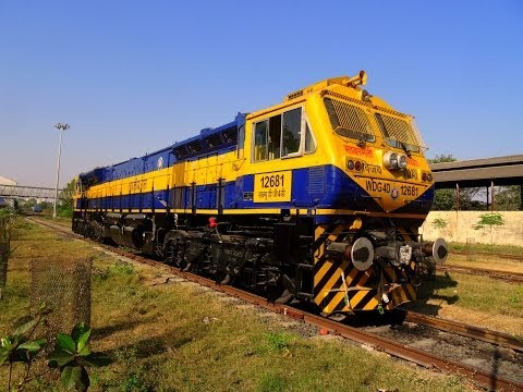 Brand New Locomotive of Indian Railways