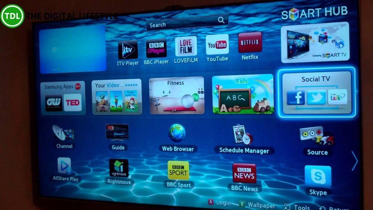 samsung series 8 smart tv review youtube. Black Bedroom Furniture Sets. Home Design Ideas