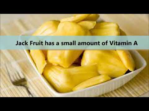 Health benefits of Jack Fruit