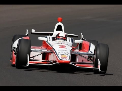 2014 Indy 500 Juan Pablo Montoya Race Highlights