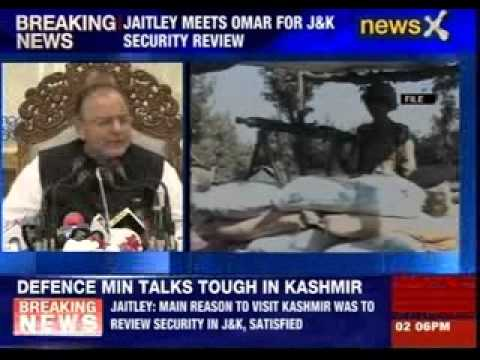 Arun Jaitley meets Omar Abdullah for J&K security review