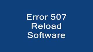 Error 507 Reload Software (BlackBerry)