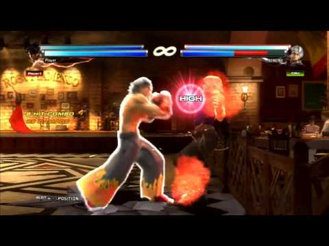 Tekken Tag Tournament 2 Jin Kazama Combo Video [SuperOgreKiller]