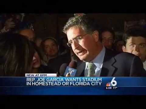 Congressman Joe Garcia Urges Beckham to put New Stadium in South Dade