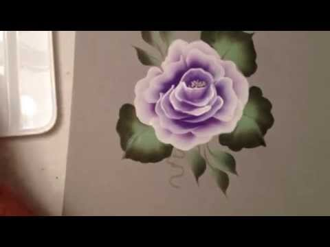 One Stroke: How to Paint a Rose by April Numamoto