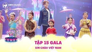 Biệt tài tí hon | tập 15: Minh Khánh mặc Hanbok nhảy quá đáng yêu trong tiết mục Xin chào Việt Nam