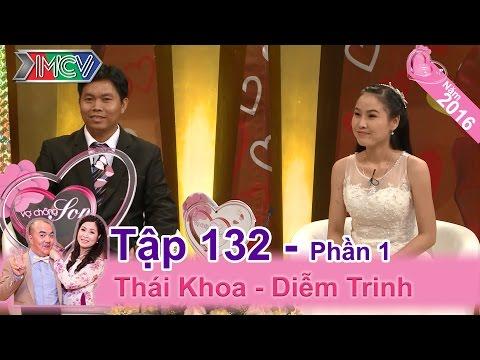 Chết cười với cặp vợ chồng có cô vợ sợ... con nít | Thái Khoa - Diễm Trinh | VCS 132