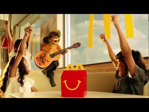 happy meal puss in boots commercial